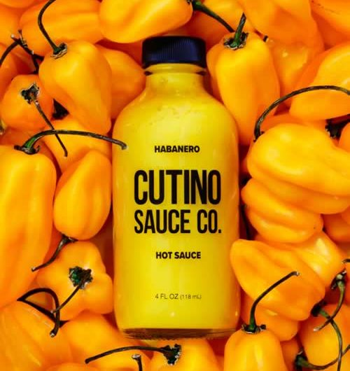 Cutino Sauce Co. Habanero Hot Sauce
